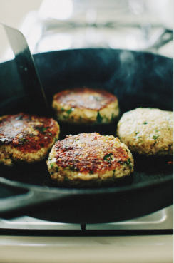 Quinoa Cauliflower Patties -