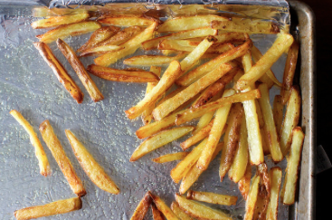 Oven Fries -