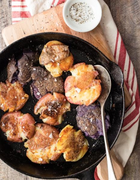 Crispy Smashed Potatoes -