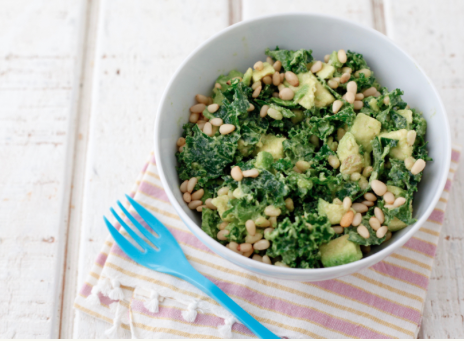 Kale Avocado Salad -