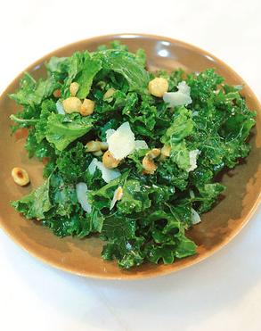 Lemony Kale Salad -