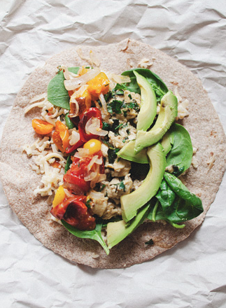 Picnic Breakfast Burrito -