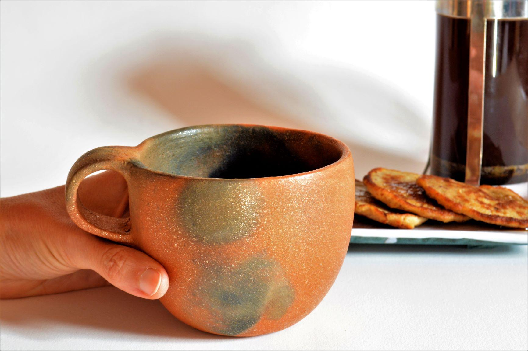 Coffee Mug with Breakfast .JPG