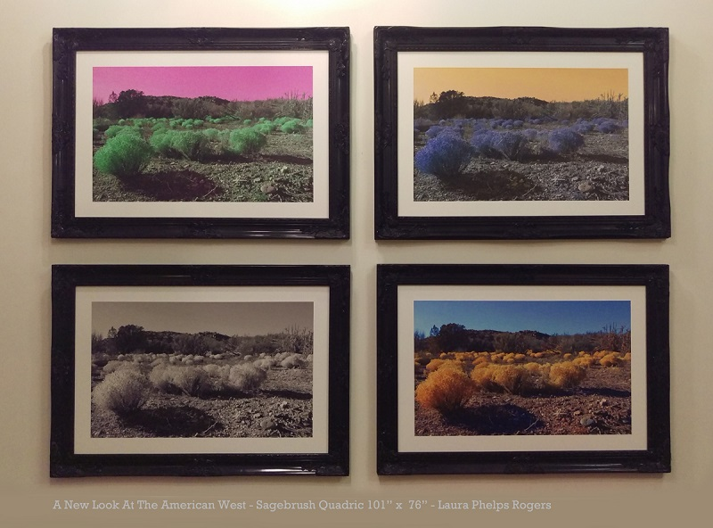 Sagebrush Quadric, A New Look At The American West Series, Laura Phelps Rogers sm web - Copy.jpg