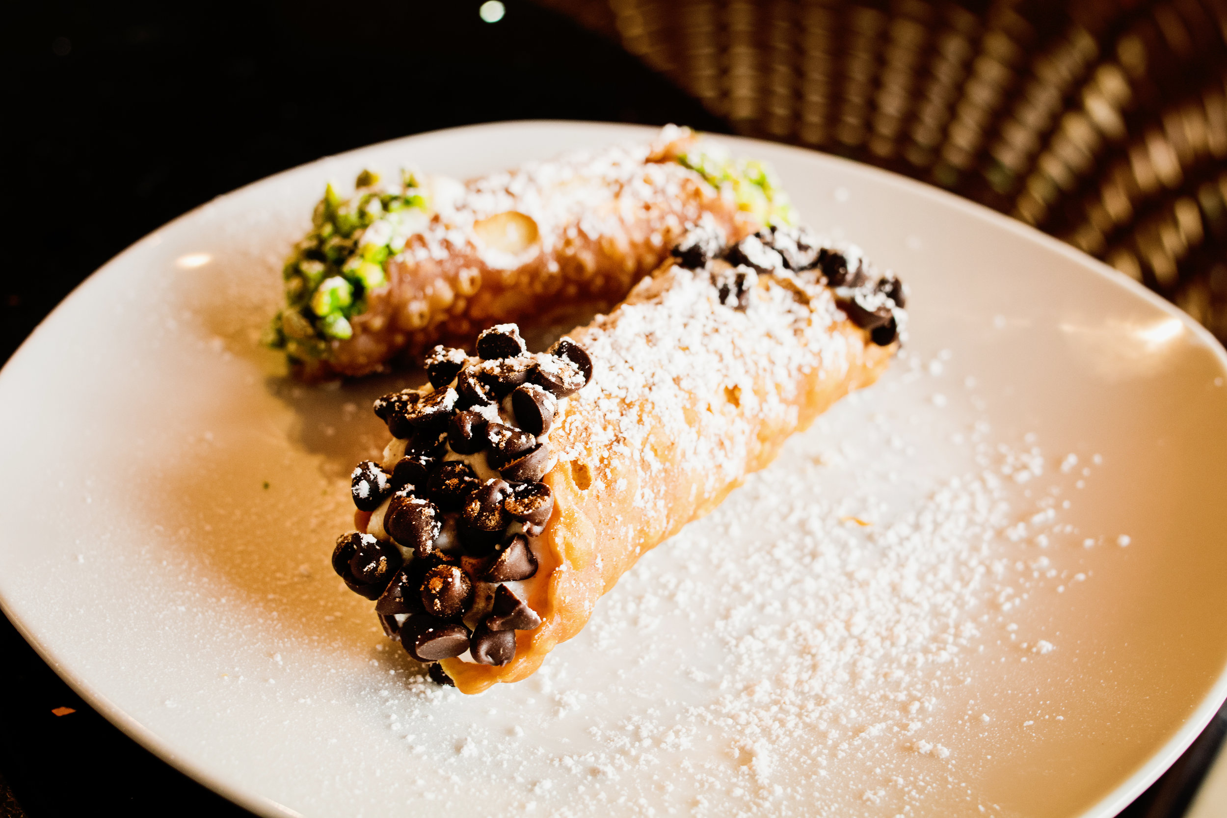 Chocolate Chip and Pistachio Cannoli photo courtesy of Northwest Quarterly Magazine