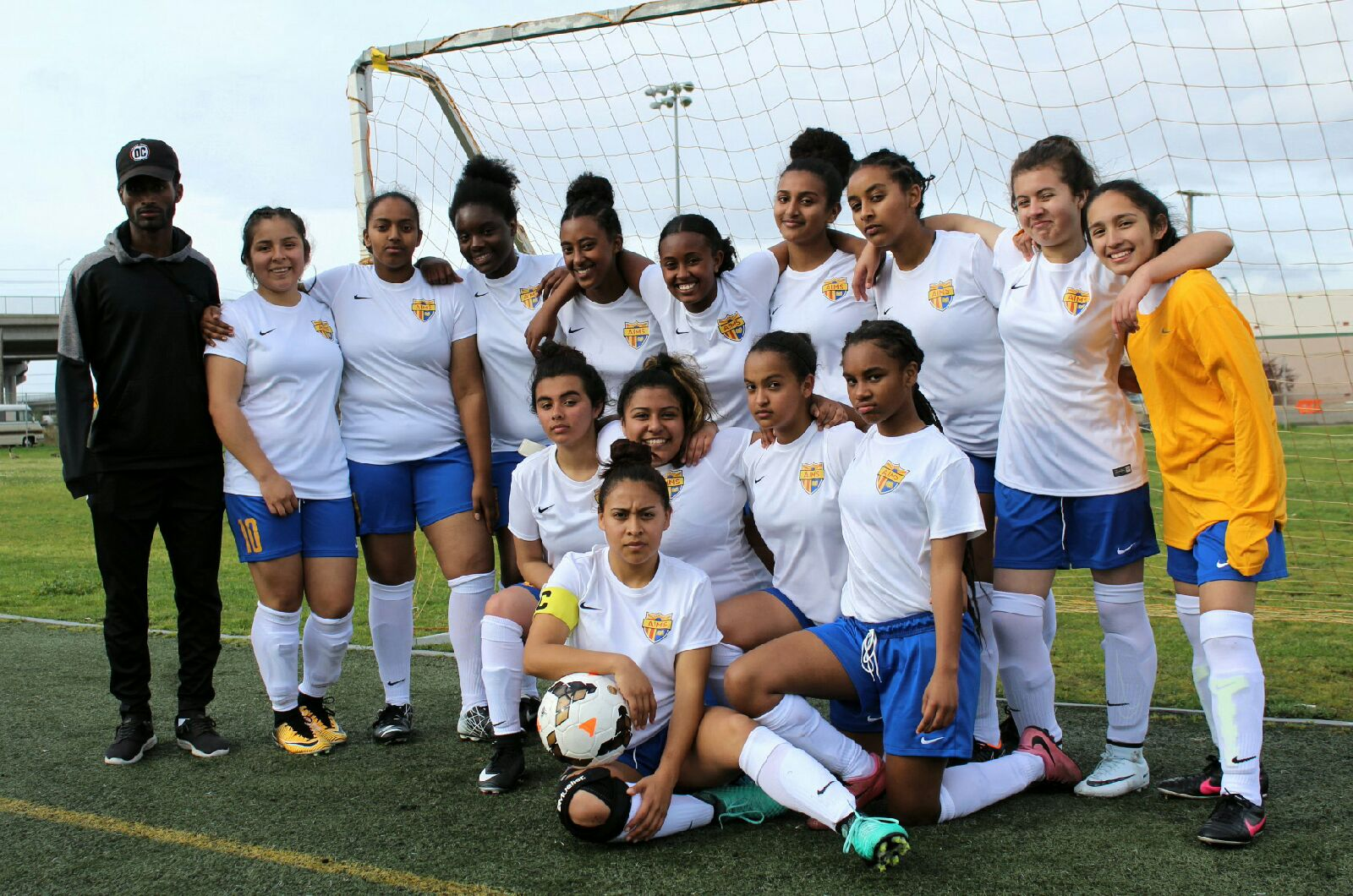 The 2018 AIPHS Lady Eagles Soccer Team (Photo by Edwin Flores)