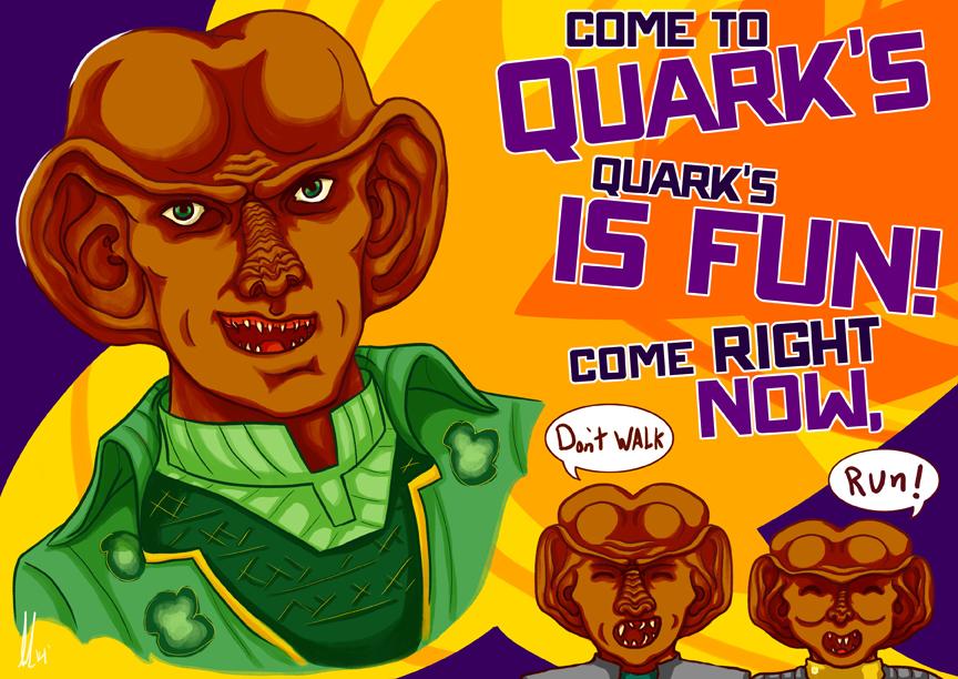 Illustration for Star Trek Bar Event