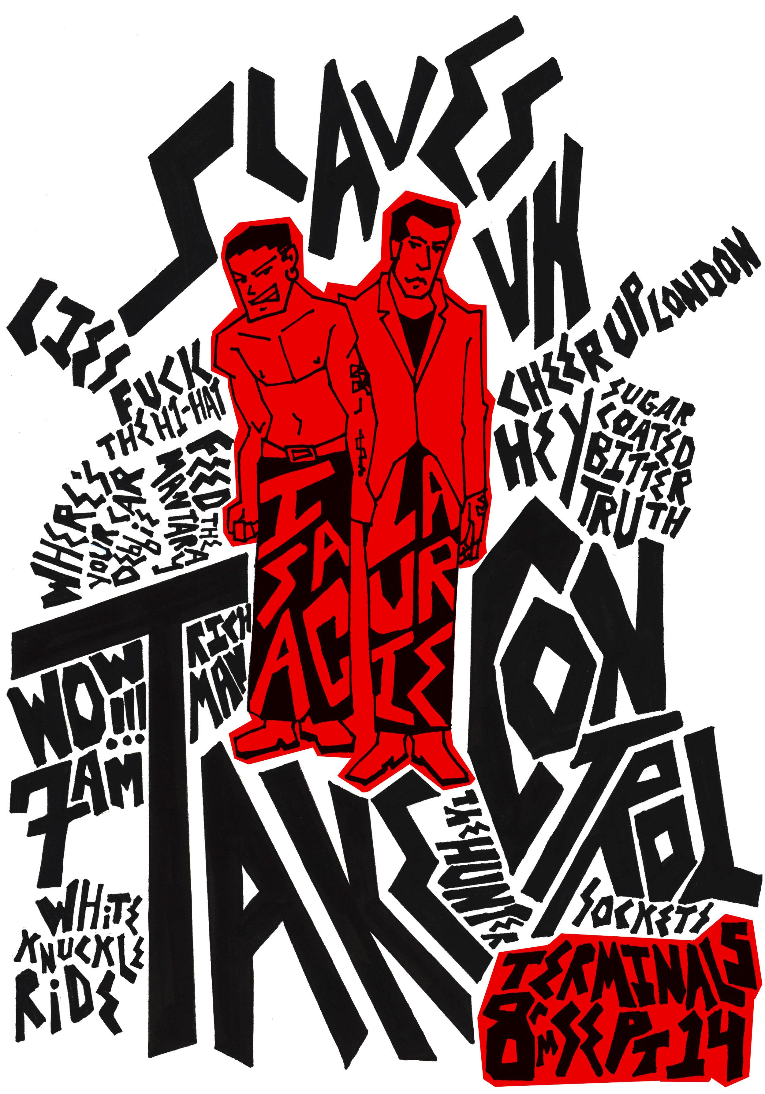 Hand lettering poster illustration