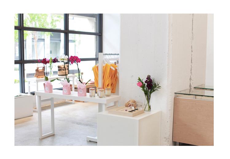 Dechel McKillian Founder of Galerie LA | Retail Window