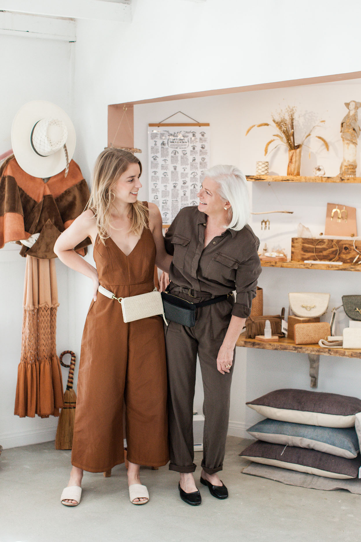 HFS Collective   Sustainable Fashion   Hand Free Bags   Rachel and Debra Denison