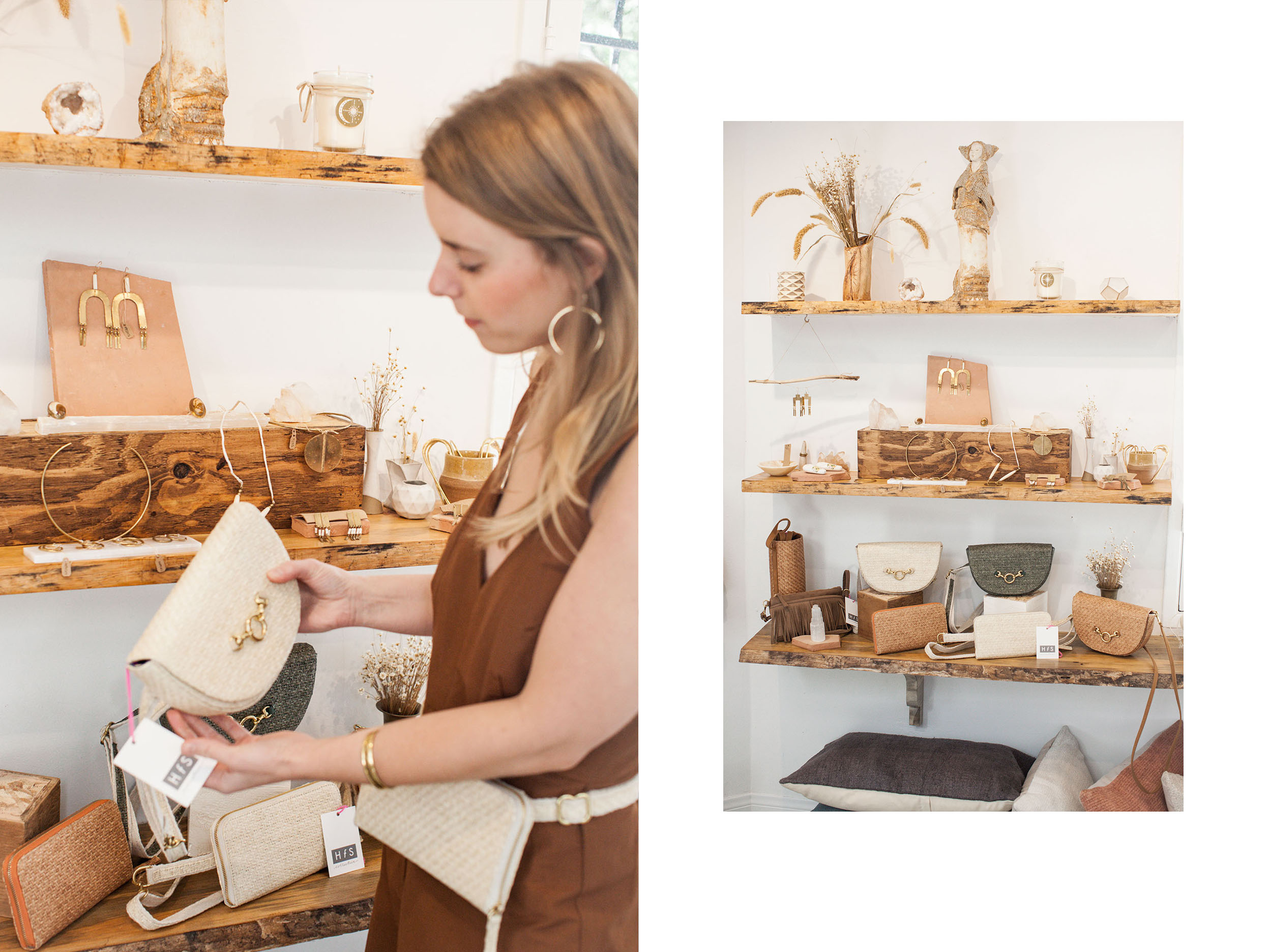 Rachel Denison   HFS Collective   Sustainable Fashion   Hand Free Bags