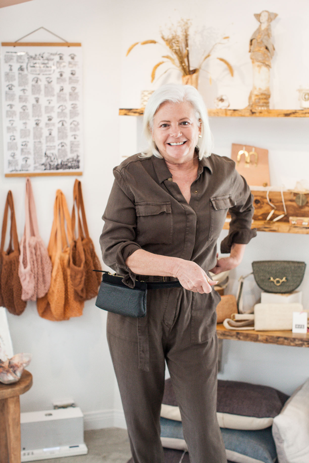 Debra Denison   HFS Collective   Sustainable Fashion   Hand Free Bags