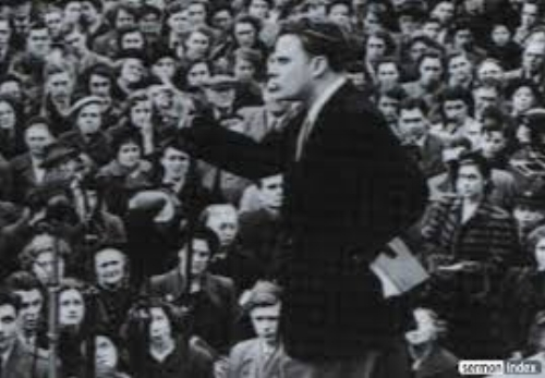 Billy Graham in the first few deacades of his World-wide evangelistic ministry.