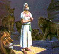 Daniel spending night with Lions
