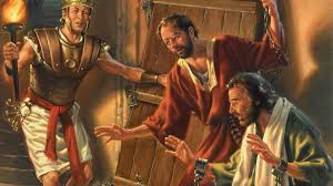 Paul and Silas with the Philippian Jailor