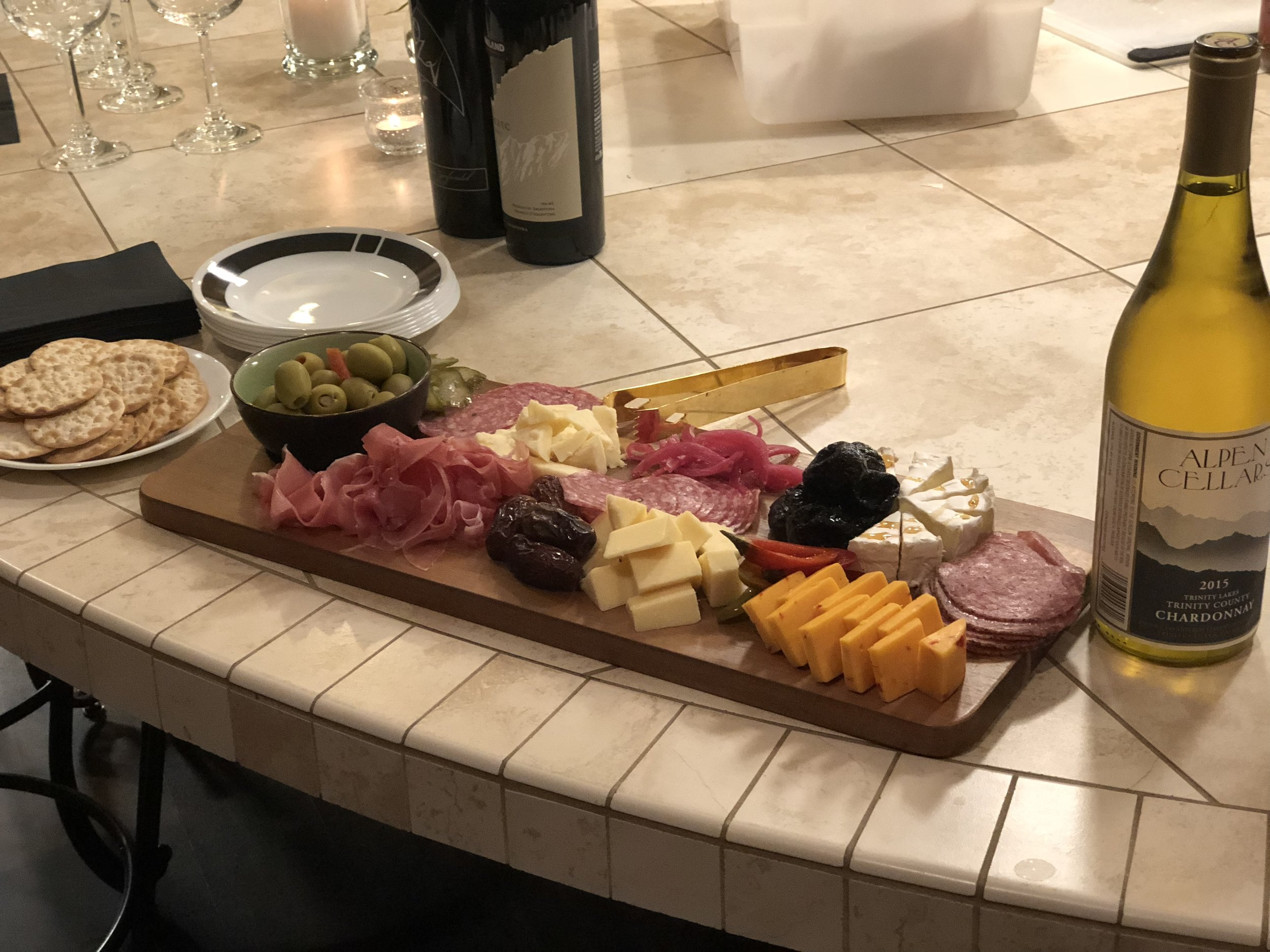 Private Dinner Charcuterie