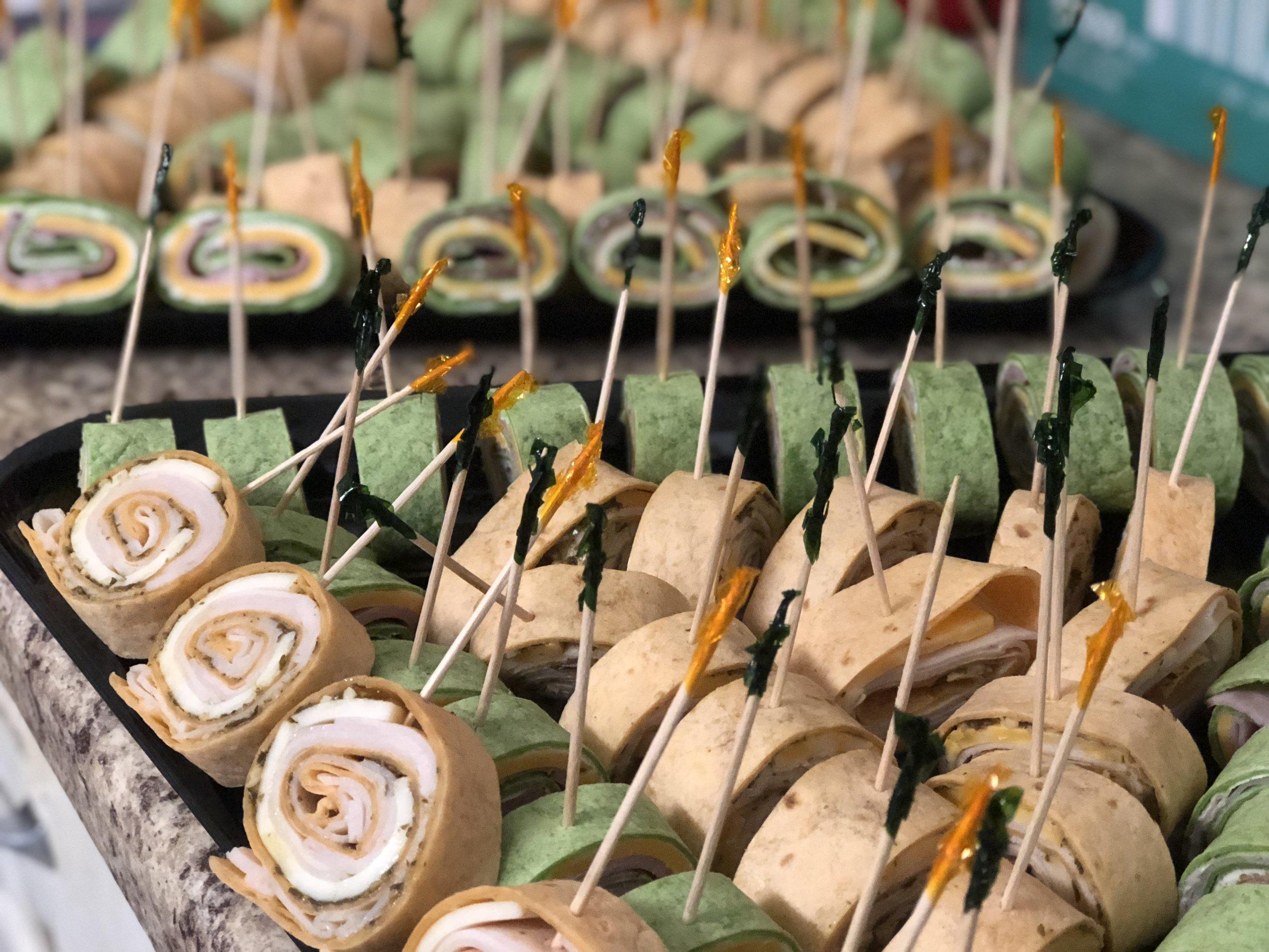 Assorted Artisan Pinwheel Sandwiches