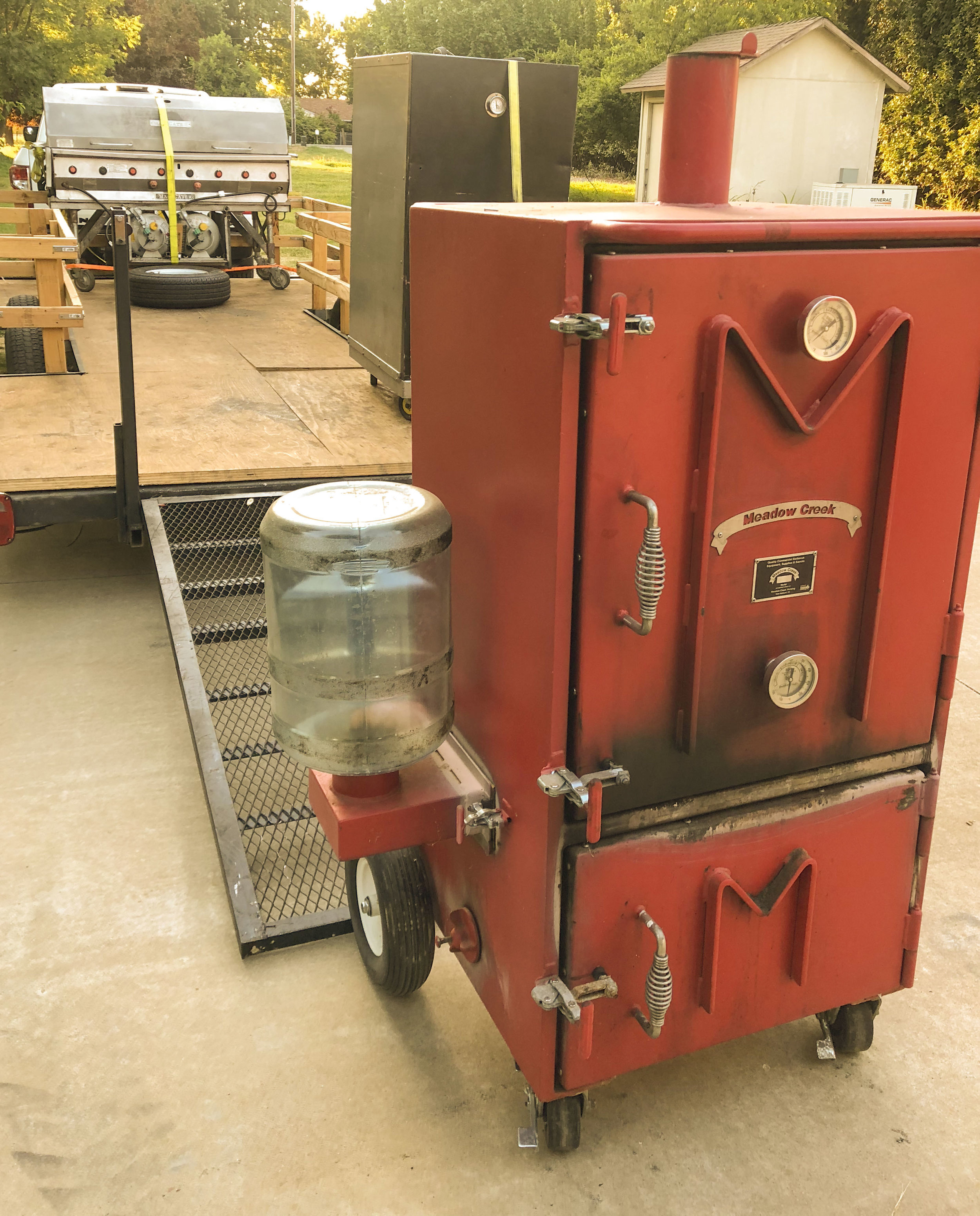 Our meadow creek BX50 smoker is has had many an elbow leaned on it in interest. It's a great unit!