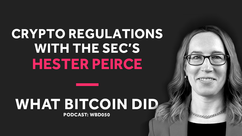 The SEC's Hester Peirce on Regulating Cryptocurrencies     NOVEMBER 24, 2018