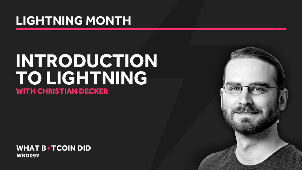 Christian Decker - An Introduction to The Lightning Network     APRIL 2, 2019