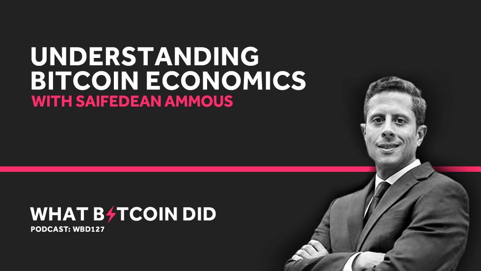 Saifedean Ammous on Understanding Bitcoin Economics     JULY 19, 2019