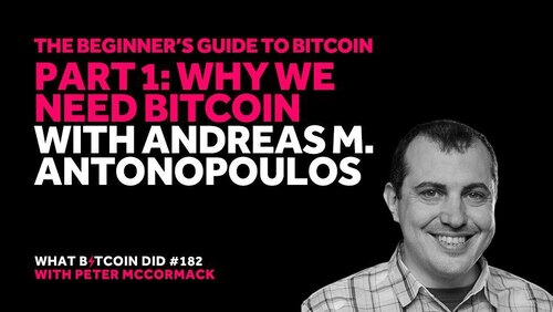 Part 1: Why We Need Bitcoin with Andreas M. Antonopoulos