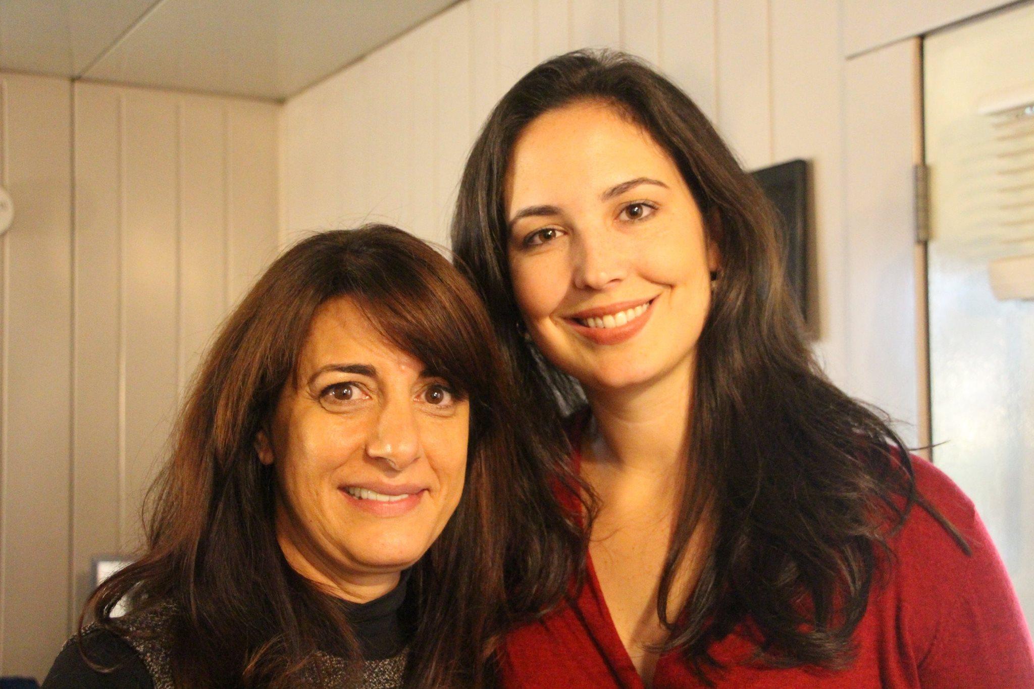 Kelly Danner and Shiva Bidar