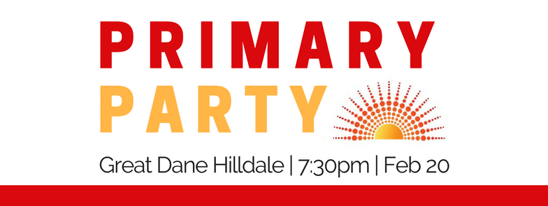 Join us to celebrate the halfway point of the campaign at the Great Dane Hilldale!