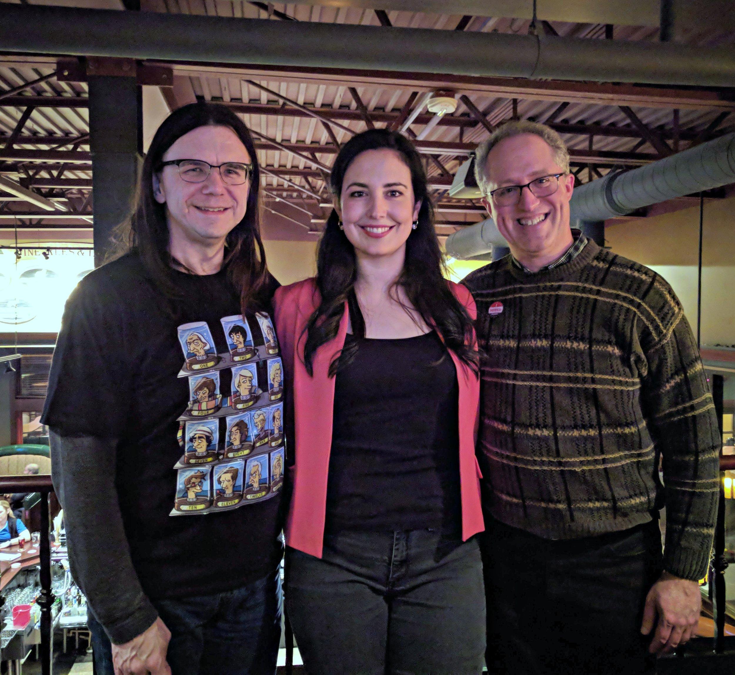 With Alder Mark Clear and former Alder Chris Schmidt