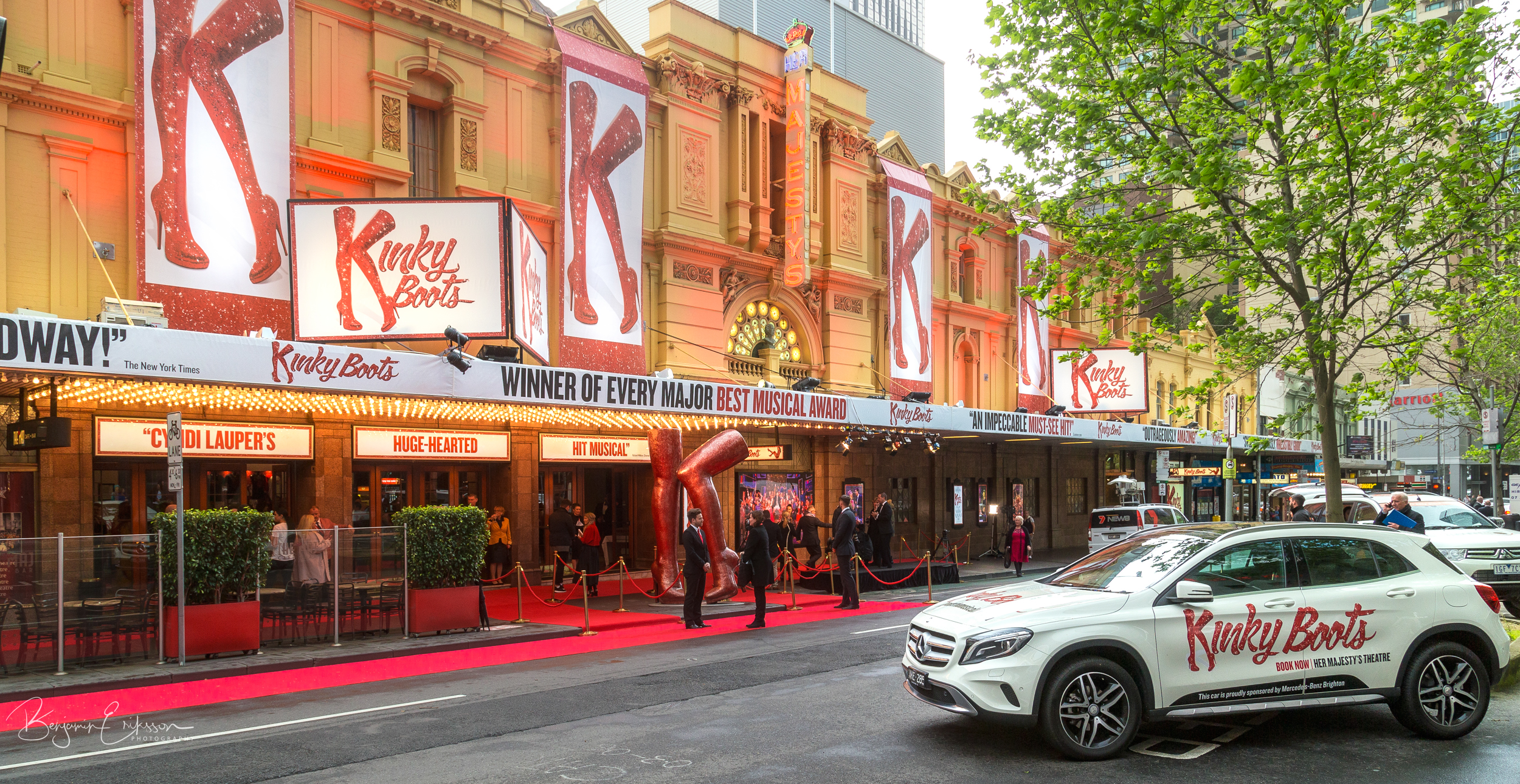 Kinky Boots Offical Opening with Visit Melbourne