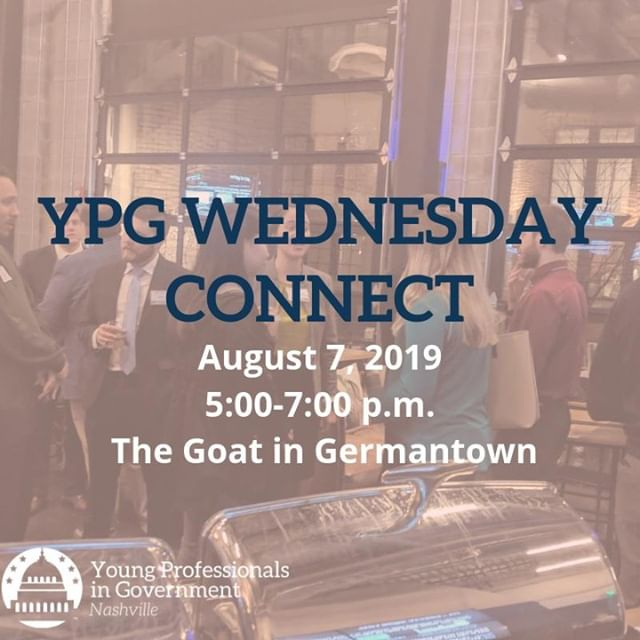 Mark your calendar 📅 for the next #YPGNash Connection Event at the Goat in Germantown! Tell us you'll be there➡️ http://bit.ly/2ZhDM04.
