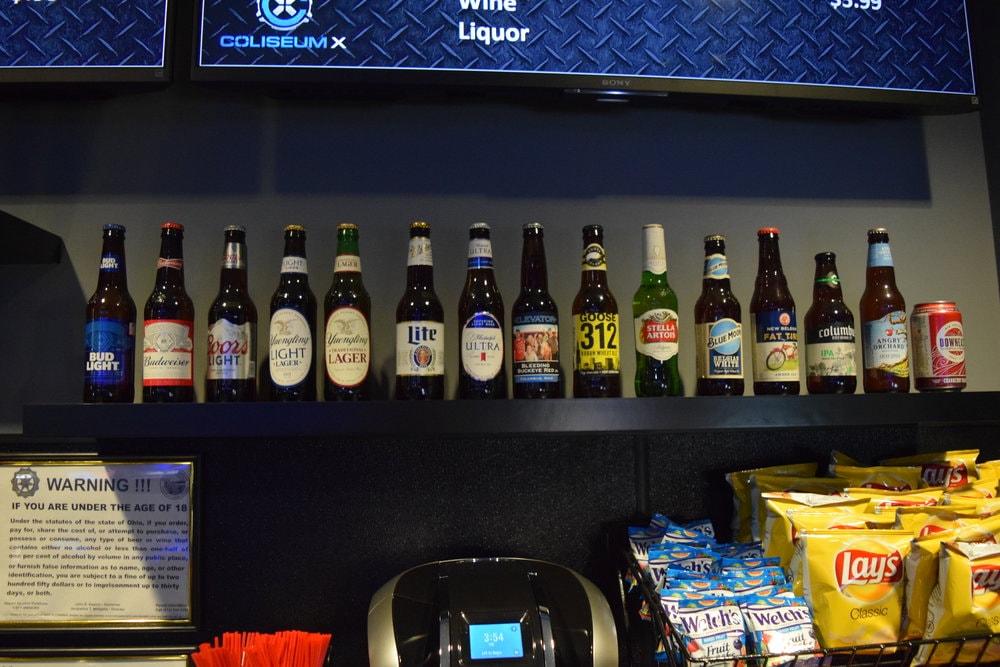 Coliseum X Laser Tag Columbus Beer