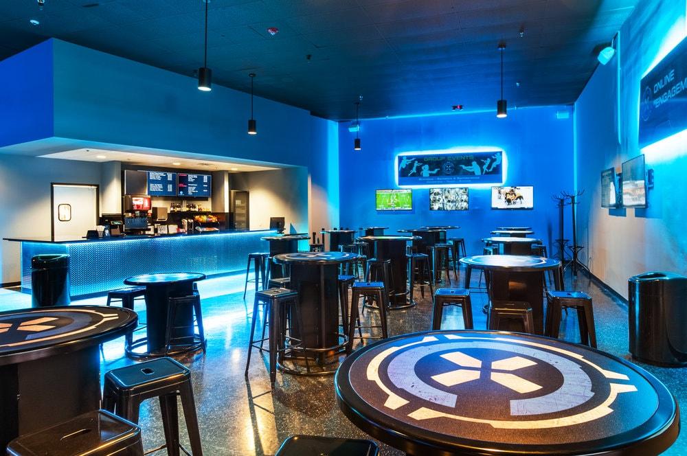 Coliseum X Columbus Laser Tag Cafe
