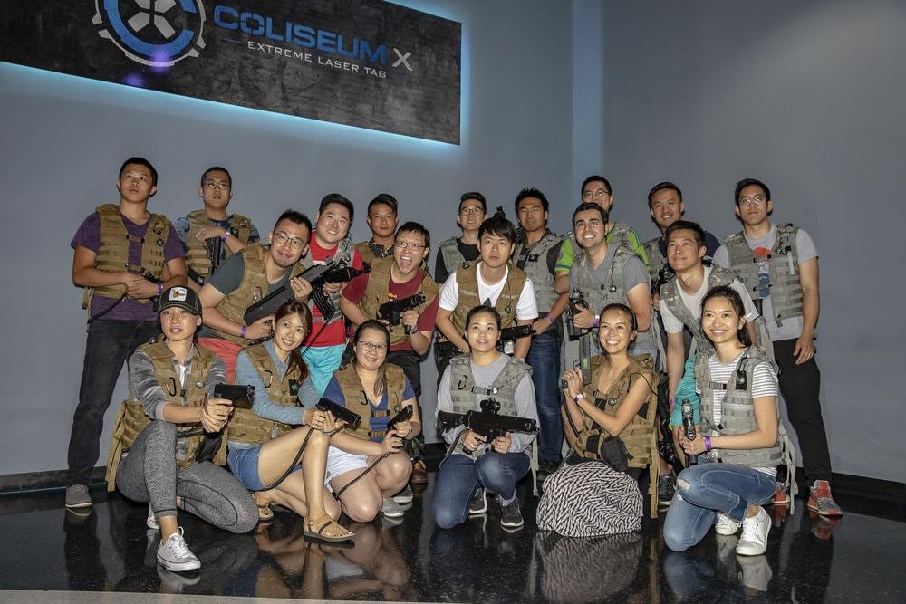 Coliseum X Columbus Laser Tag Parties 3
