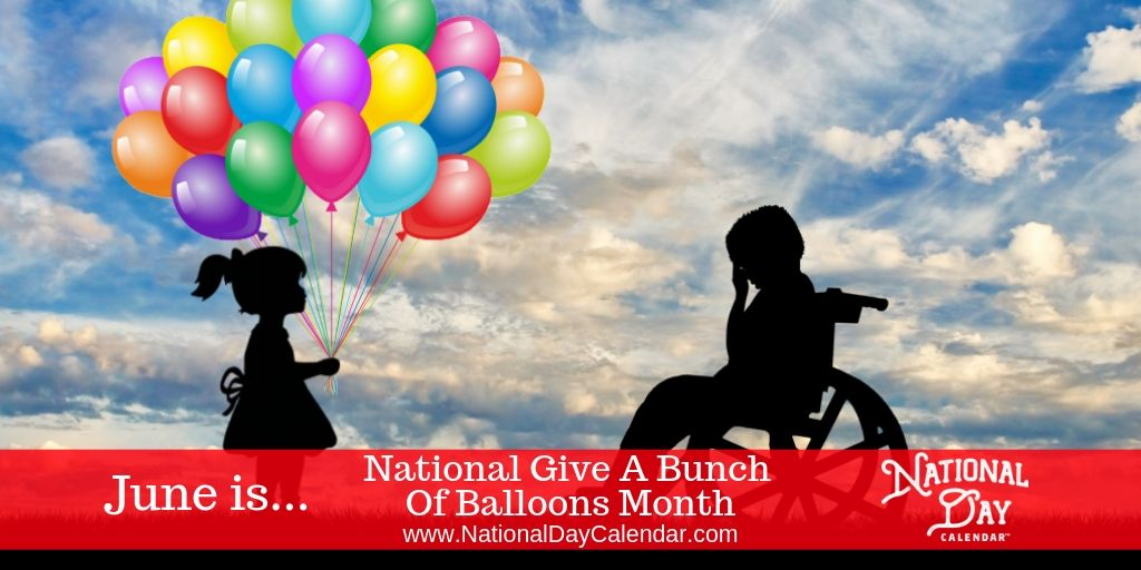 National Give a Bunch of Balloons Wanda Carter Roush
