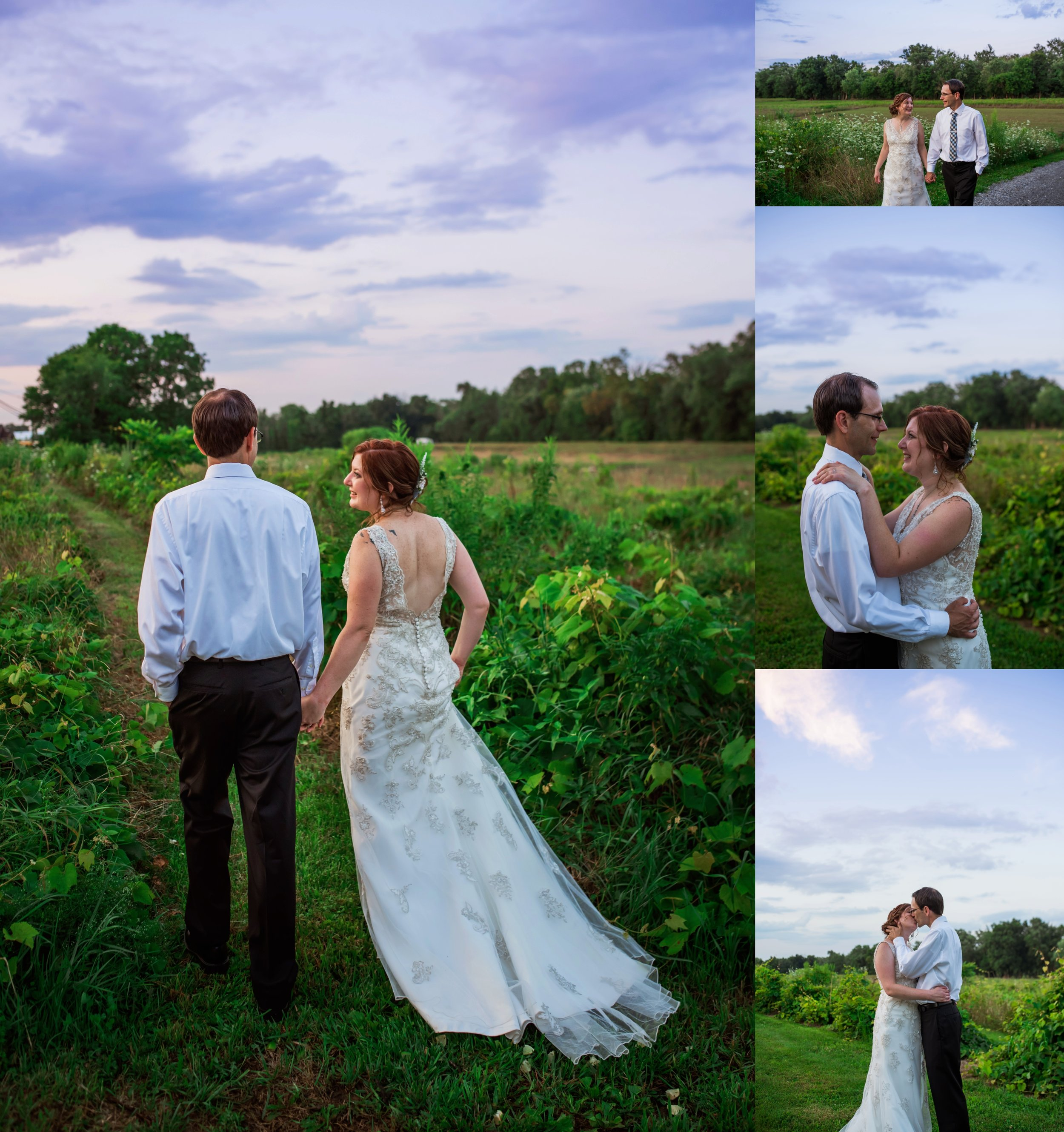 I always encourage my couples to take a few moments right before sunset for some intimate portraits.