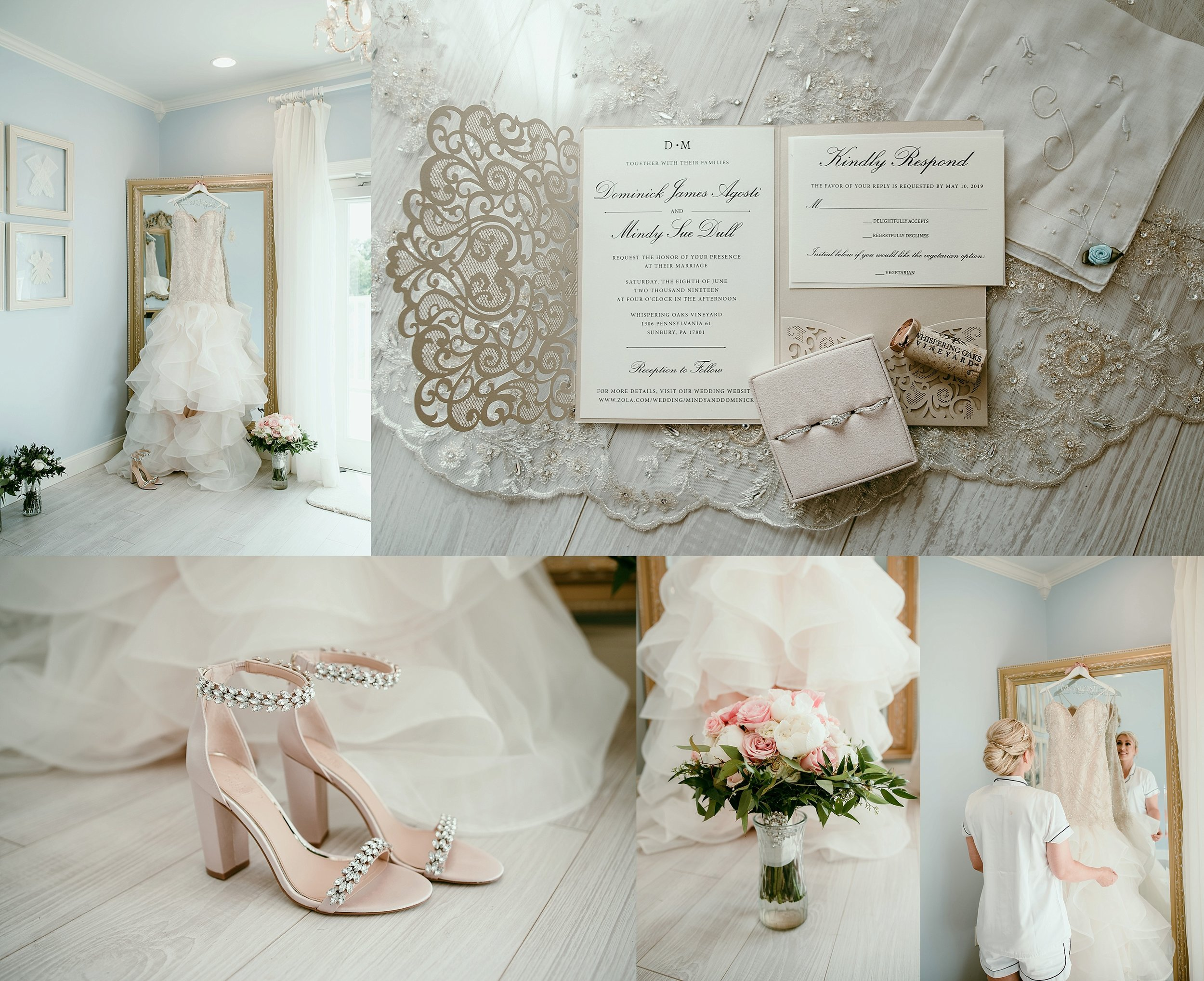 "The bridal suite is STUNNING and I love capturing those ""getting ready"" moments here."