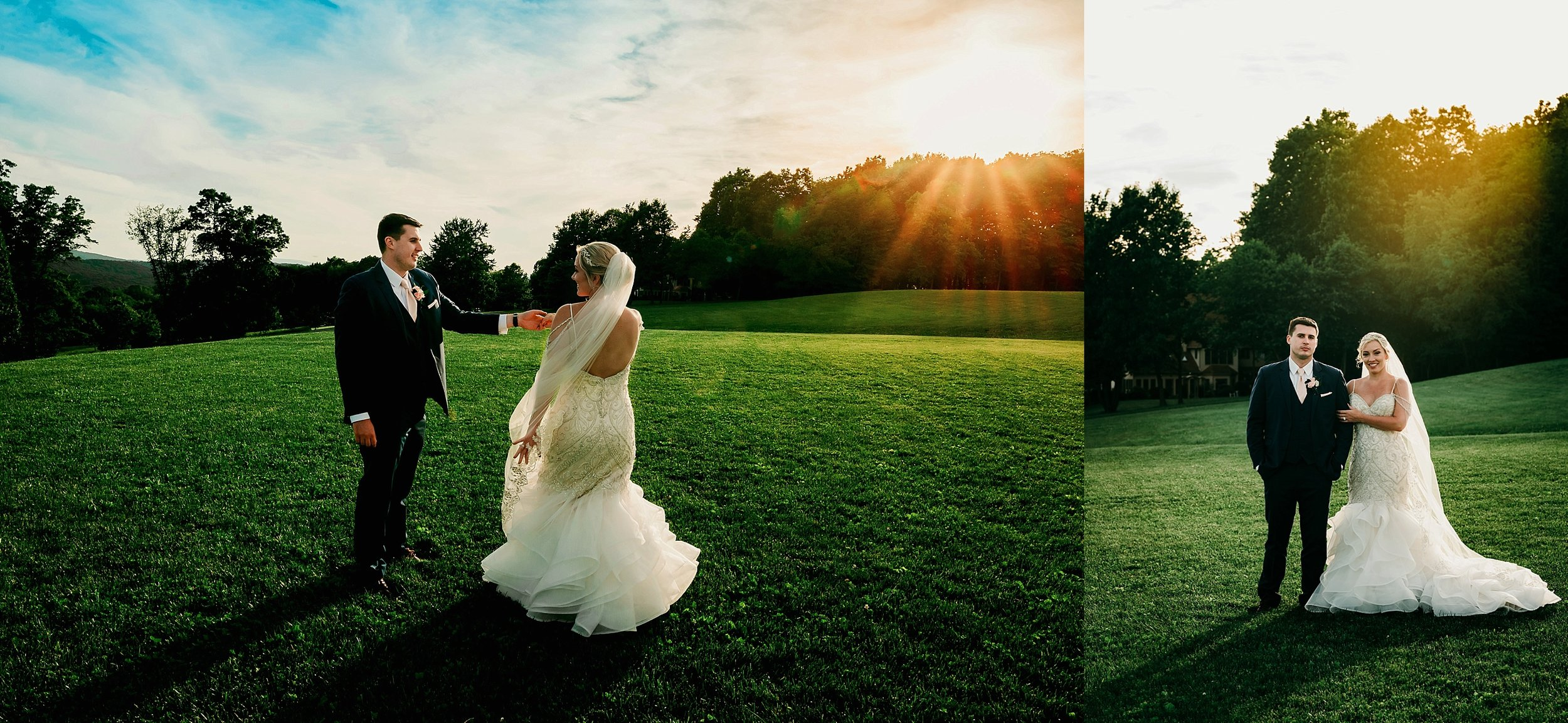 And my favorite part of the day…sneaking out of the reception for sunset portraits. It's always worth it for a few minutes of this goodness! :-)