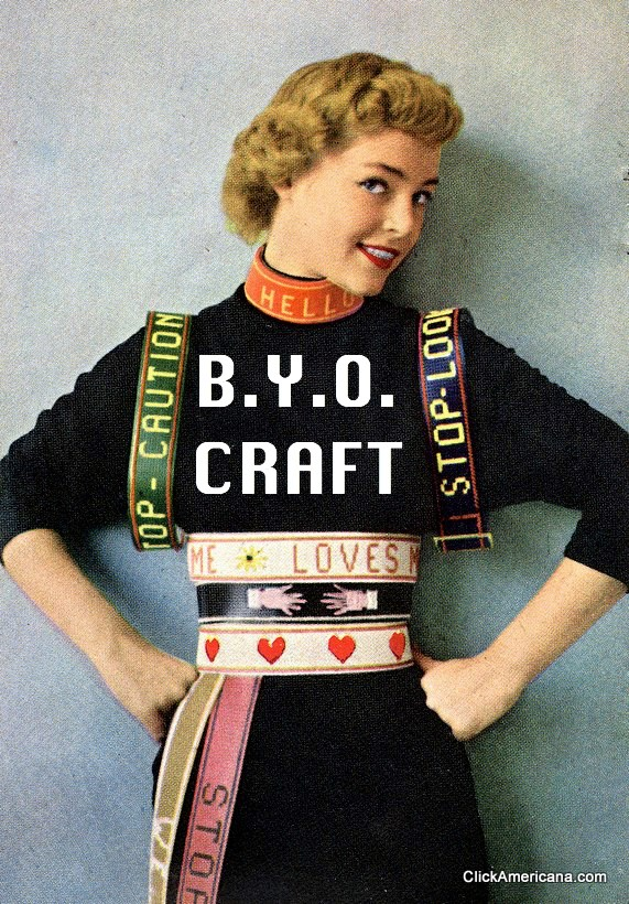 B.Y.O. Craft2nd Thursdays6:30-8:30p - Whatever craft you're into: bring your current project, and hang out with fellow creatives! The perfect opportunity to finish whatever you've been procrastinating…Lead by Liby Ball and/or Miranda MerkleyAges 21+Free! BYOB!