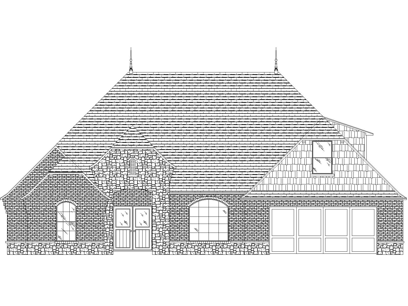 Cimarron Front Elevation - Option 1.jpg