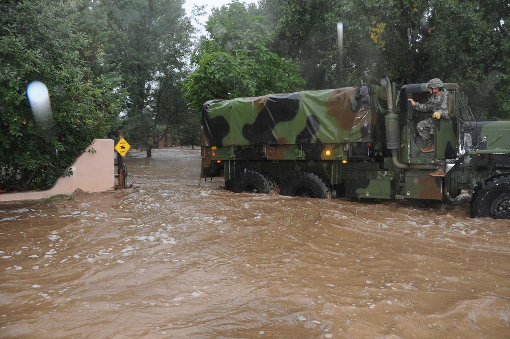 Colorado National Guard Flood Response, Boulder 2013, Flickr