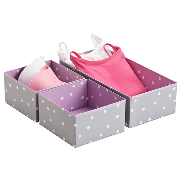 Drawer organizers from Container Store