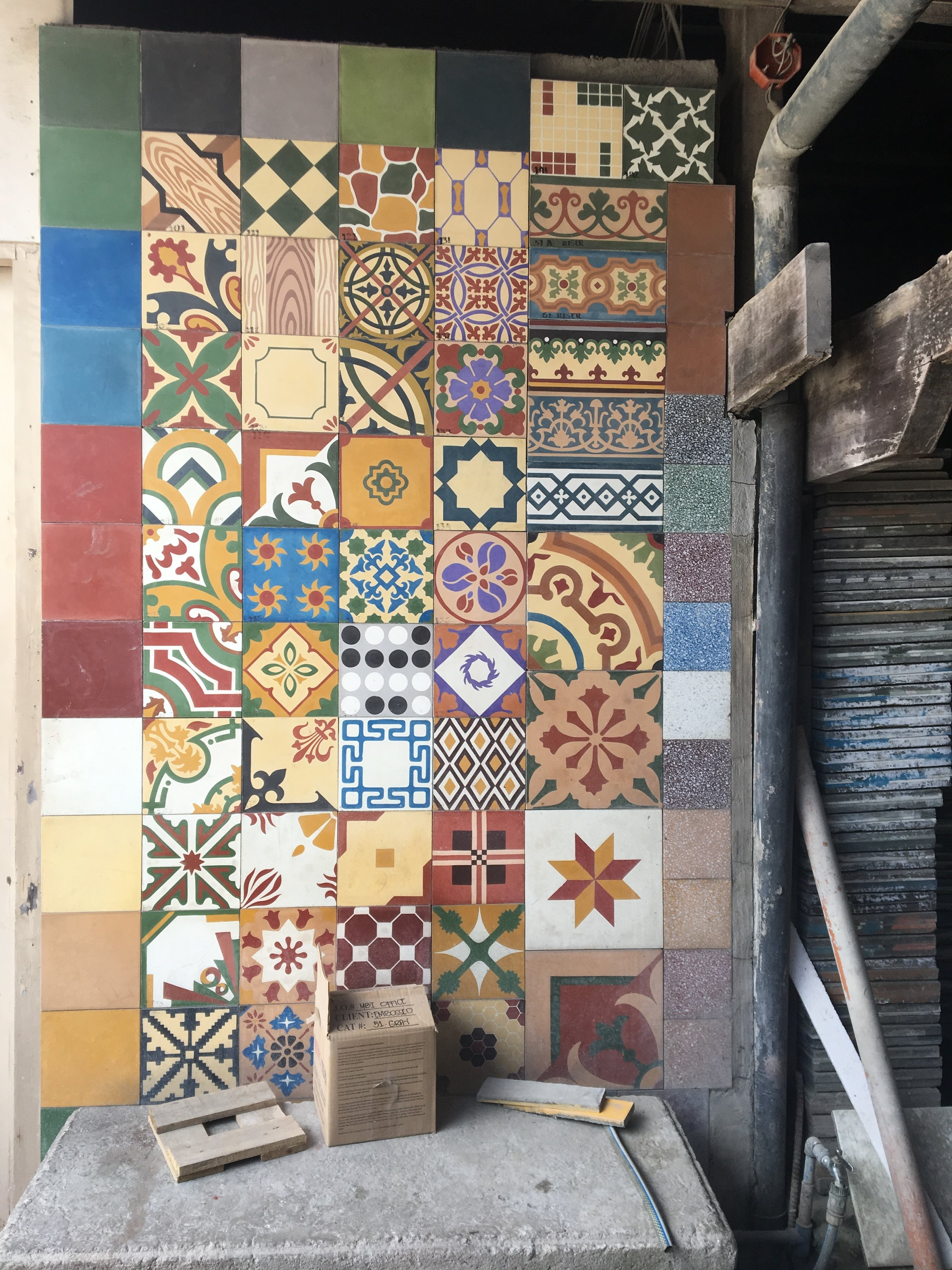 Machuca cement tile