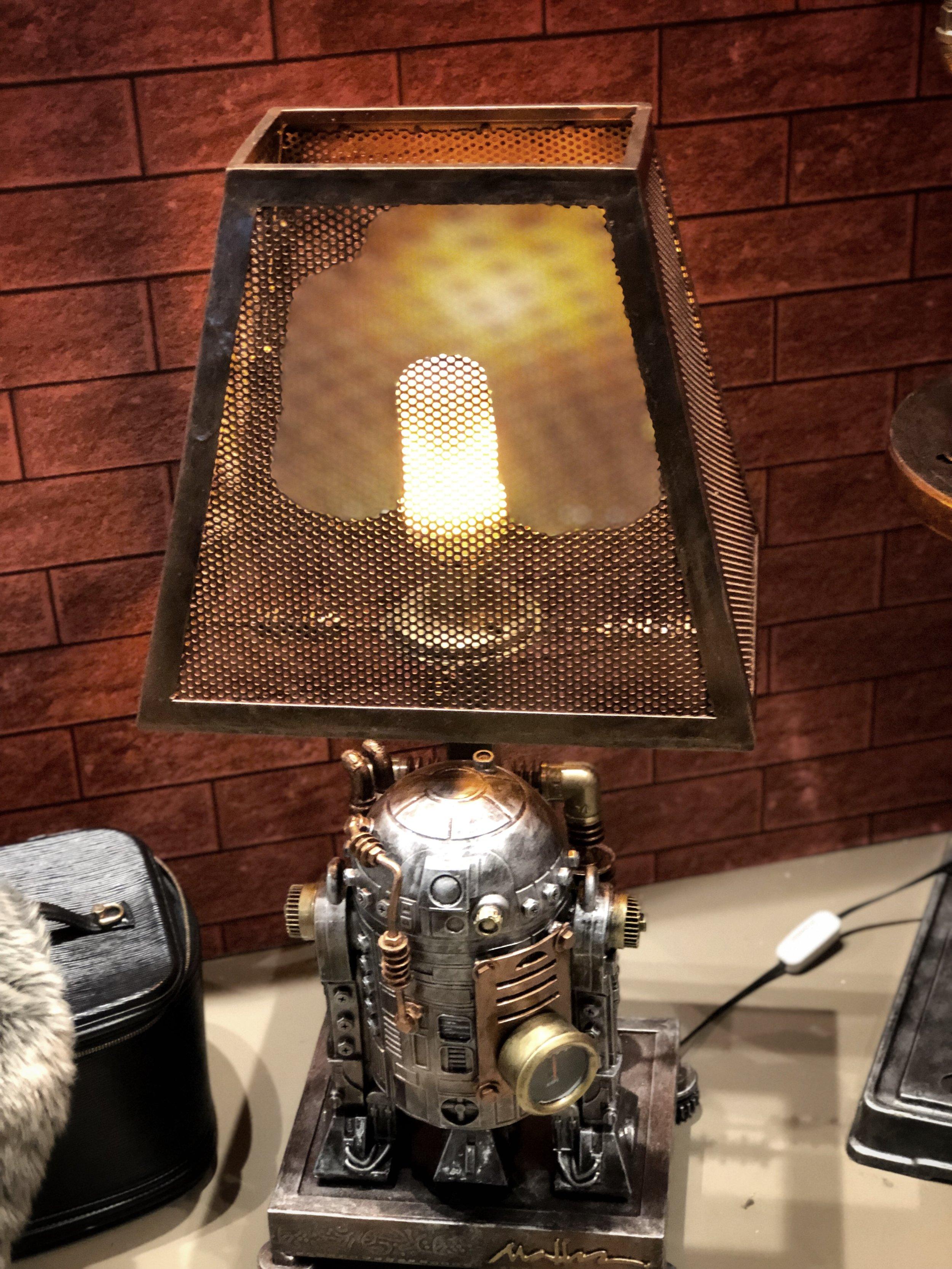 R2D3 Lamp by Retrospect Studio, designed by Ram Mallari