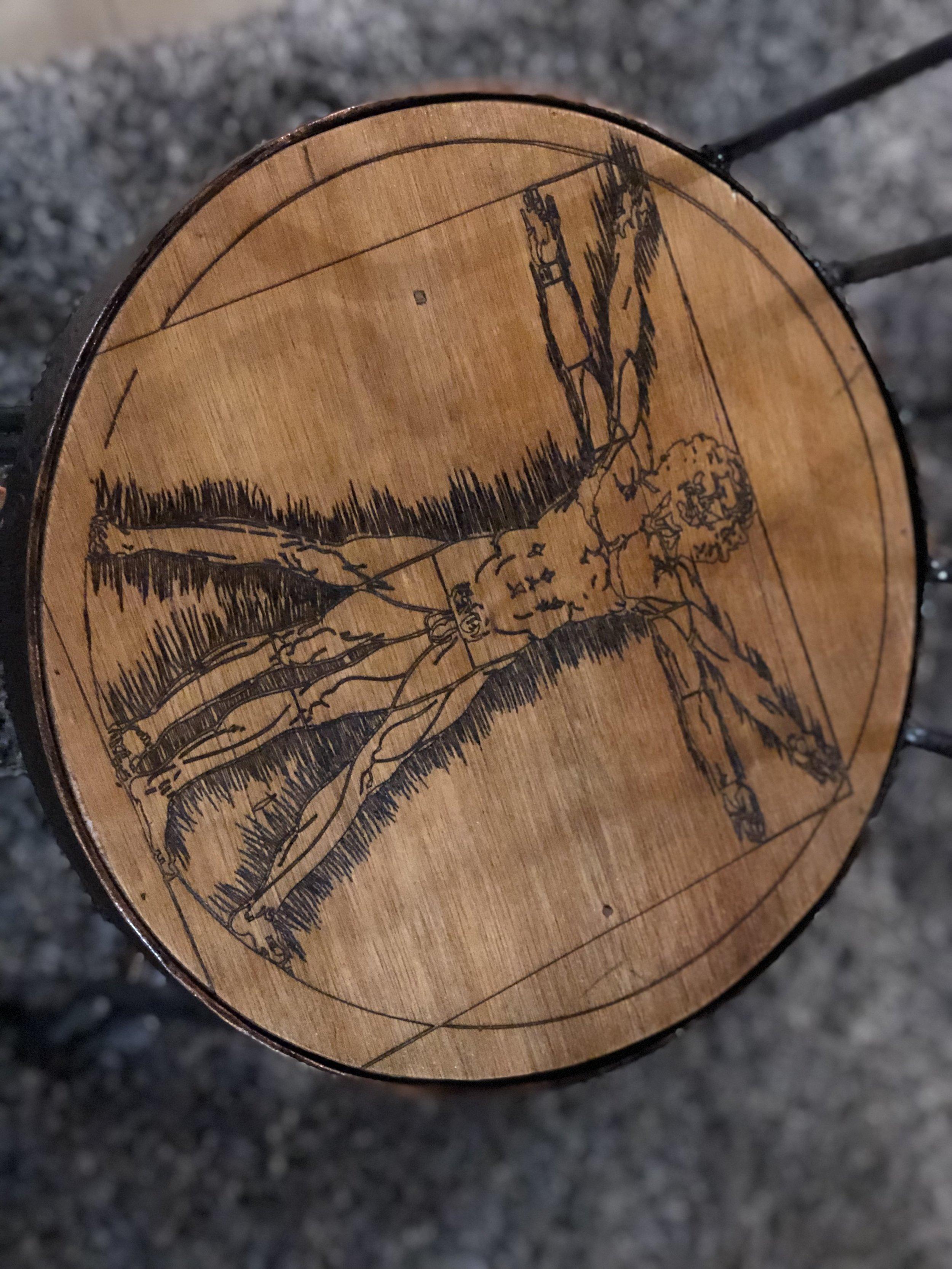 Hidden Art Detail, Batibot Chair
