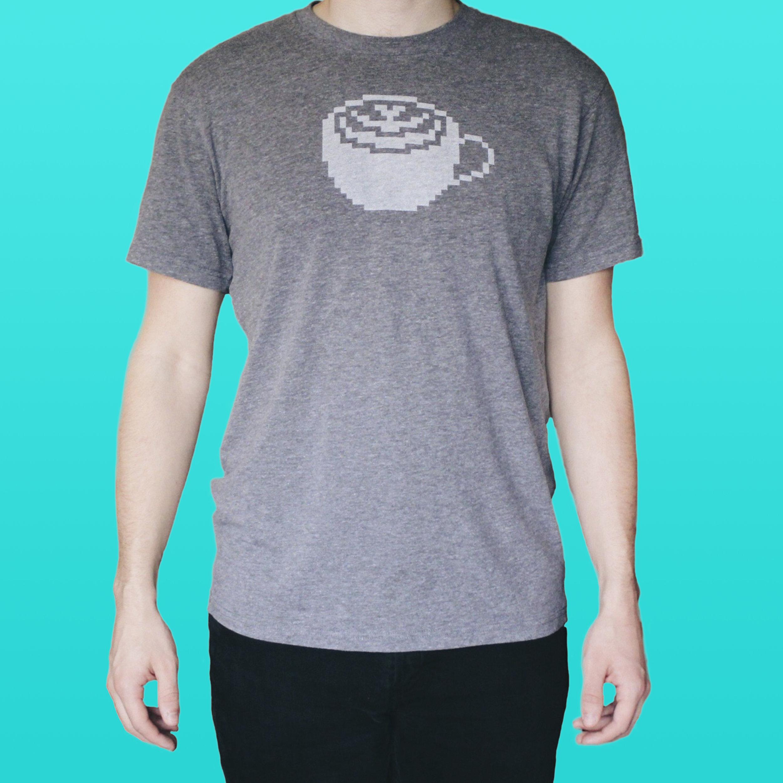 Pixel Latte Shirt