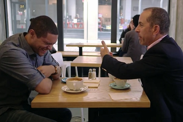 Comedians In Cars Getting Coffee - I love the drama's and suspense-filled plots, but at times it is exhausting to be emotionally and mentally invested in those shows for so long. This is a nice break from that. Casual convo, laughs, and with your favorite comedians. Getting coffee.Also on Netflix.