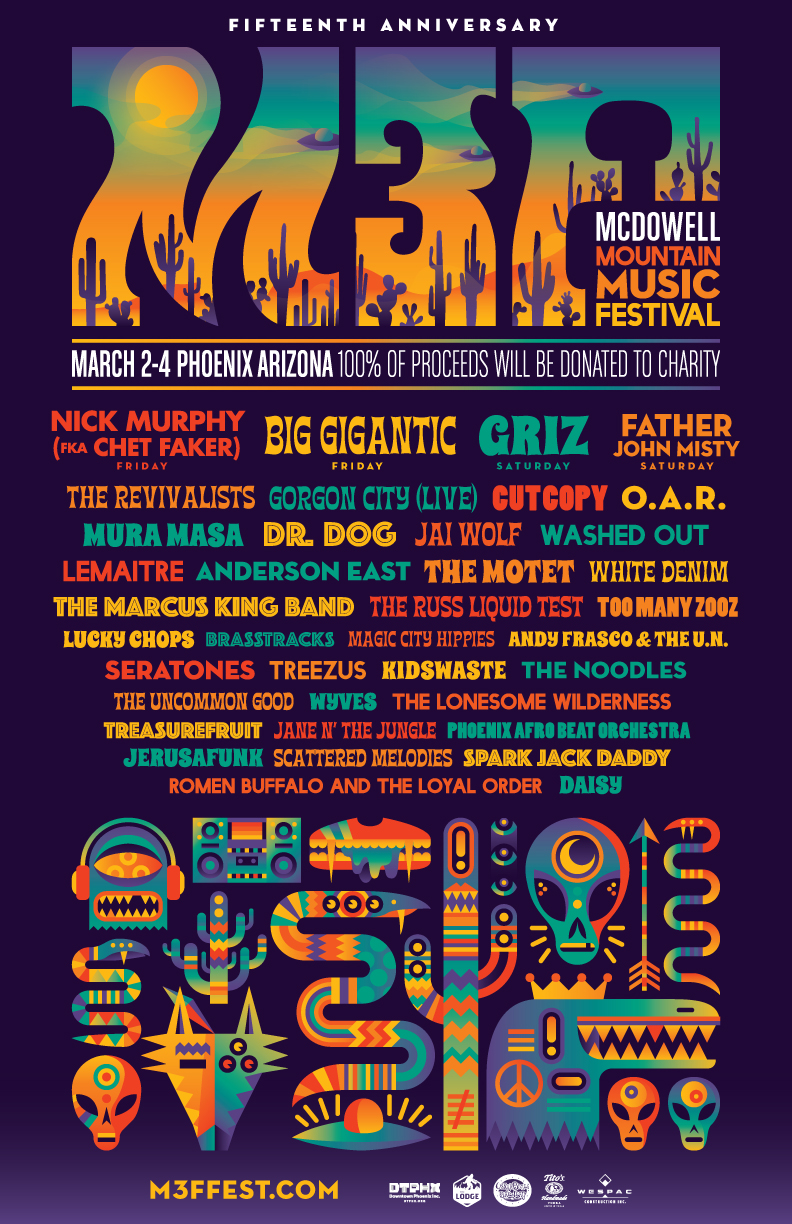 all line-up media from    M3F Fest.com