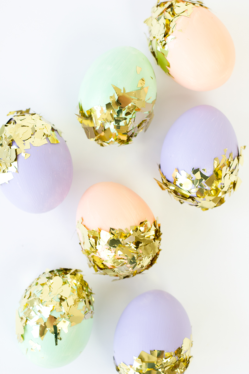 5. It's not a party without Confetë - More commonly spelled Confetti, these Easter eggs are dressed to be the center of attention