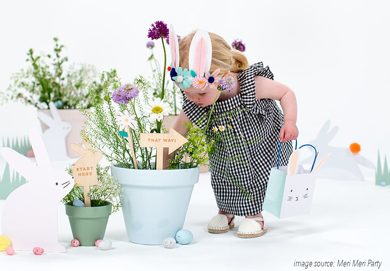 Kids Only - With the tightest set of results, our readers voted that the Easter egg hunt is a kids only event. While we are all for making the day fun for our kids, don't forget to plan something for the hardworking parents; mimosa bar anyone?!